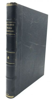 Bound volume of monographs on Athens: Ta próta schédia ton Athinon (First Plans of Athens,...