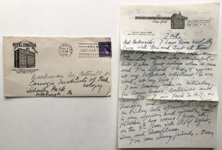 73 letters and cards, 1950-1963, to one of his closest friends: music, performance, gossip, politics, celebrities