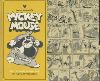 "Walt Disney's Mickey Mouse Vol. 6: ""Lost In Lands Long Ago"" Floyd Gottfredson"