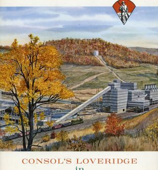 Consol's Loveridge in Northern West Virginia. Consolidation Coal Company