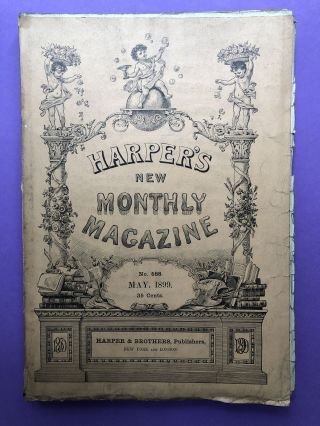 Harper's New Monthly Magazine, May 1899. Frederic Remington Henry Cabot Lodge