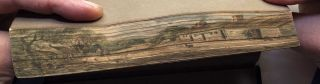 The Gentleman's Diary, or the Mathematical Repository; An Almanack for...1829 - with fore-edge painting of Robert Burns' birthplace at Alloway