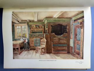"""""""Art of the Past in Norwegian Country Districts."""" Fortids Kunst i Norges Bygder. Telemarken Vols. I-VI"""