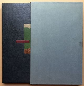 Printing Poetry, a Workbook in Typographic Reification - in beautiful full leather designer binding
