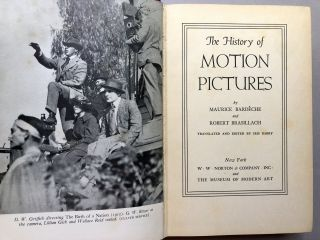 The History of Motion Pictures (1938) - screenwriter William Goldman's copy