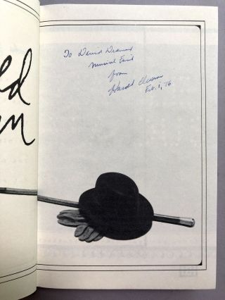 All People Are Famous (instead of an autobiography) - inscribed to composer David Diamond and with William Goldman's stamp