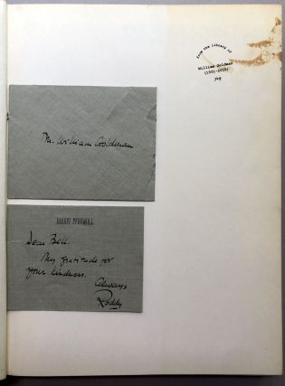 Double Exposure (1966, with note to contributor William Goldman) plus Double Exposure Take 2, 3 and 4 from Goldman's library