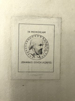 The Scientific Papers of John Couch Adams, 2 volumes
