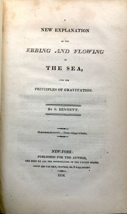 A New Explanation of the Ebbing and Flowing of the Sea upon principles of Gravitation