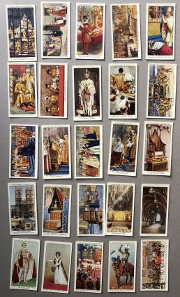 The King's Coronation, complete set of 50 cards, 1937, George V