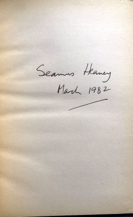 North - signed by Heaney