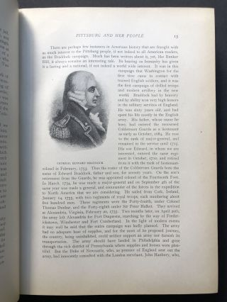 A Century and a Half of Pittsburg [Pittsburgh PA] and Her People, 4 volumes