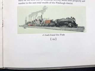 Industrial Pittsburgh (color illustrated 1929 large format booklet on the city's industries)