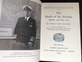 History of United States Naval Operations in World War II, 15 volumes, all first editions in dust jackets