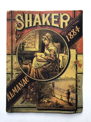 The Shaker Family Almanac 1884