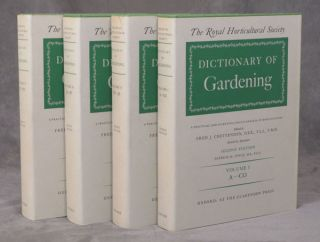 Dictionary of Gardening, A Practical and Scientific Encyclopaedia of Horticulture, 4 Vols.; The...