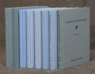 Biography and Source Studies, 8 volumes. Frederick R. Karl, Et. Al