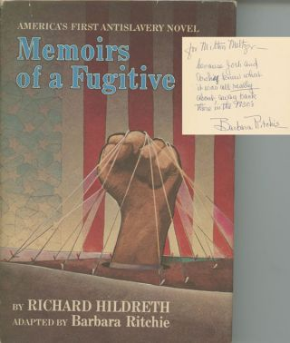 Memoirs of a Fugative, America's First Antislavery Novel; by Richard...