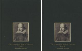The Library of Abel E. Berland; 2 vols.--Part I: Important...
