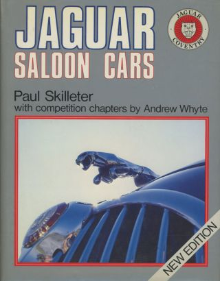 Jaguar Saloon Cars; A Foulis Motoring Book