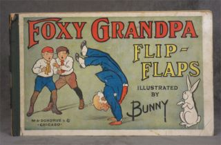 Foxy Grandpa Flip-Flaps; Illustrated by Bunny