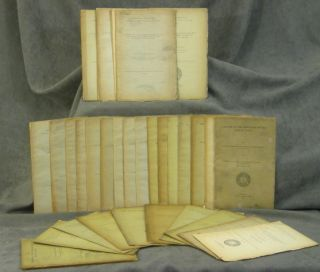 Collection of about 35 Offprints by David Starr Jordan