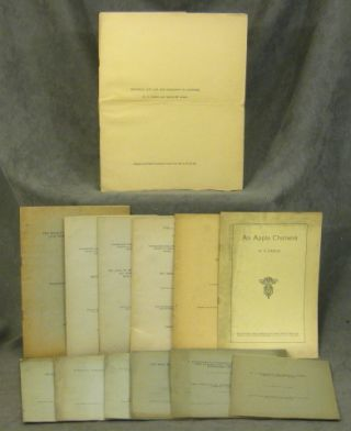 Collection of 13 Offprints and Pamphlets by W.E. Castle (William...