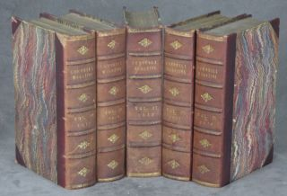 The Cornhill Magazine, 5 vols.--Vol. 21 (January to June, 1870) through Vol. 25 (January to June,...