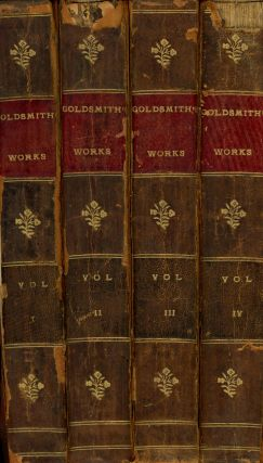 The Miscellaneous Works of Oliver Goldsmith, M. B.; A New Edition In Four Volumes; To Which Is...
