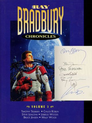 The Ray Bradbury Chronicles, Volume 3 / Three / III