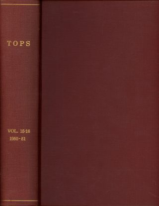 Tops, The Magazine of Magic, 24 issues, run of 1950...