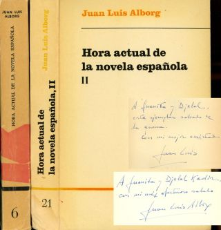 Hora Actual de la Novela Espanola, 2 vols.--Vol. I and...