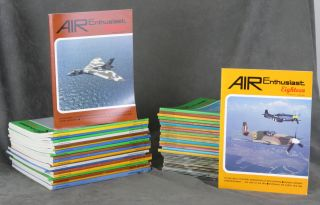 Very Long Straight Run of 121 issues Air Enthusiast /...