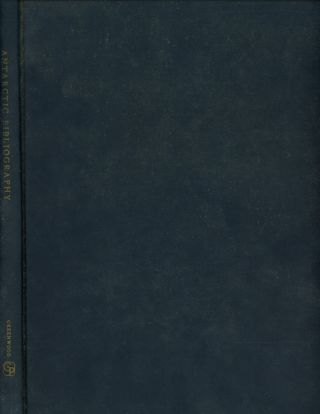 Antarctic Bibliography; Prepared by the U. S. Naval Photographic Interpretation...
