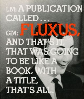 In the Spirit of Fluxus: Published on the Occasion of...