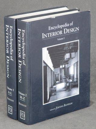 Encyclopedia Interior Design, 2 Vols.--Volume 1: A-L & Volume 2: M-Z