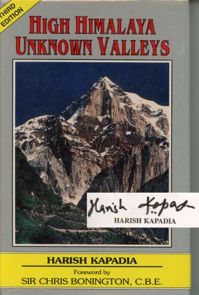 High Himalaya, Unknown Valleys--SIGNED!
