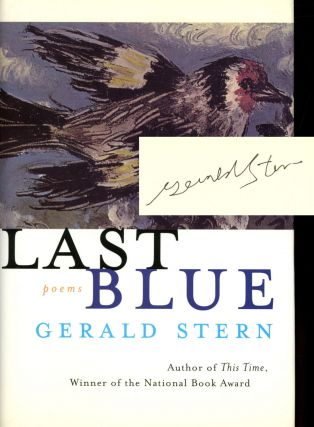 Last Blue, poems