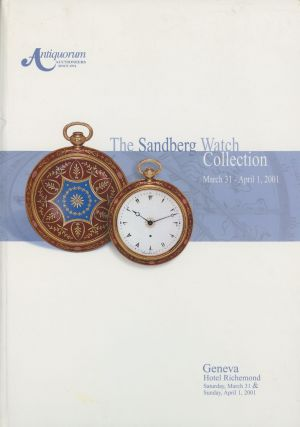 The Sandberg Watch Collection: To be Offered for Sale by...