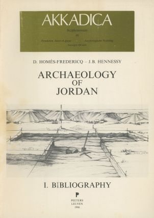 Archaeology of Jordan, I: Bibliography; Akkadica Supplementum III