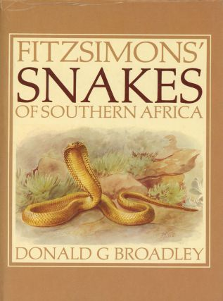 Fitzsimons' Snakes of Southern Africa