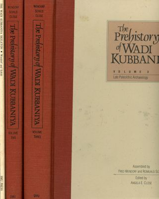 The Prehistory of Wadi Kubbaniya, 3 vols.--Volume I: The Wadi...