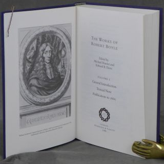 The Works of Robert Boyle (in 14 vols.) & The Correspondence of Robert Boyle (in 6 vols.), 20 volumes total