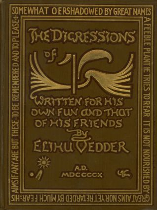 The Digressions of V., Written For His Own Fun and That of His Friends; Containing the quaint...