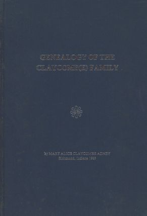 Genealogy of the Claycombe / Claycomb(e) Family