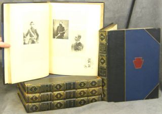 "The Twenty-Eighth Division; Pennsylvania's Guard; In the World War; 5 Vols. ; ""Pennsylvania..."
