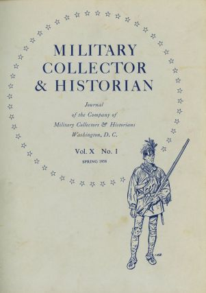 Bound Volume of Military Collector and Historian, Journal of the...