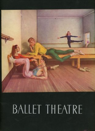 The Ballet Theatre, Thirteenth Season 1951-1952. Lucia Chase, Oliver Smith, George Platt Lynes
