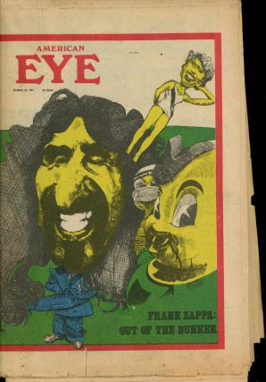American Eye, Volume I, Number 3, 1974, Featuring Frank Zappa!
