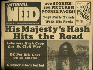 National WEED, America's Leading News Magazine, Volume I, Number 2, May 1976
